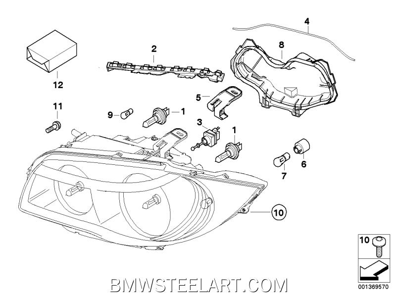 Single components for headlight63_0874
