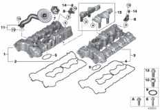 11_4170 Cylinder head cover