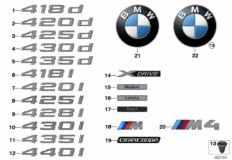 51_9263 Emblems / letterings